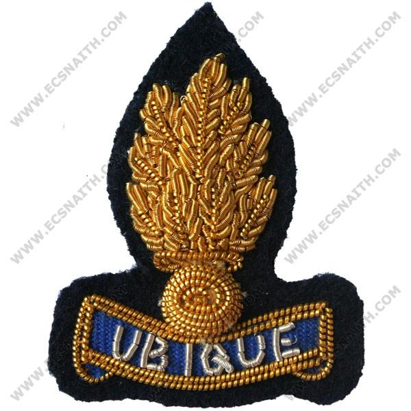 RE SNCO Navy Collar Badge