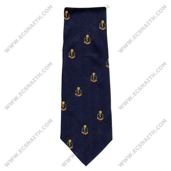RAMC Crested Tie