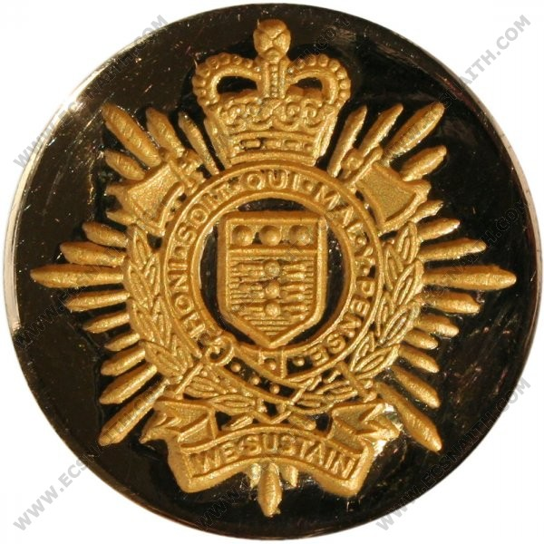 Royal Logistic Corps Button, Blazer (Large)