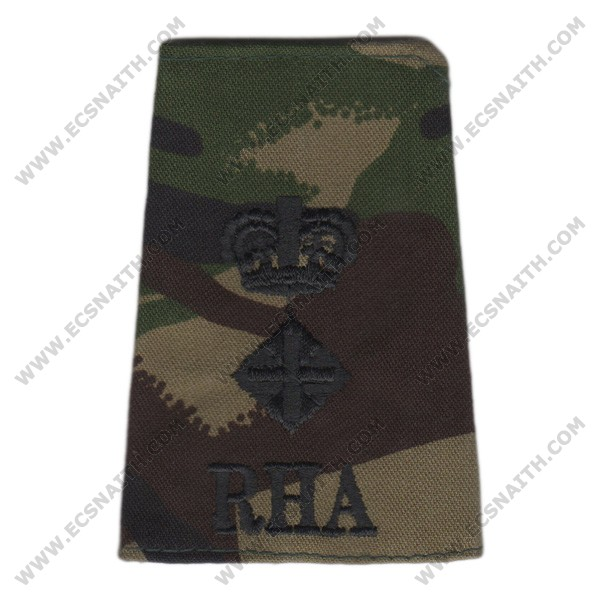RHA Rank Slides, CS95, (Lt/Col)