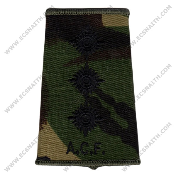 ACF Rank Slides, CS95, (Capt)