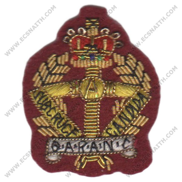 QARANC Beret Badge, Officers, on PARA