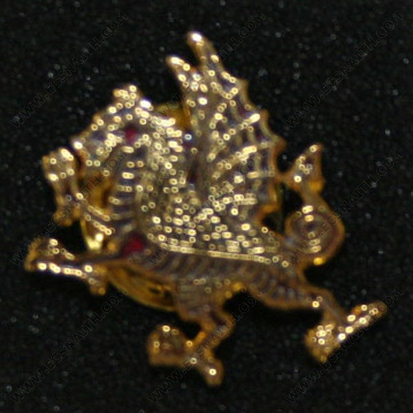 RWF Black Dragon Lapel Badge