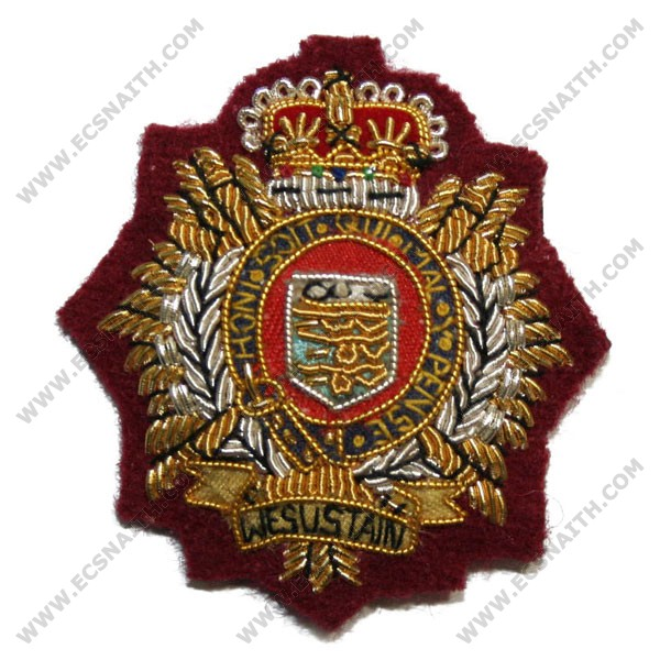 Royal Logistic Corps Beret Badge, Officers, PARA