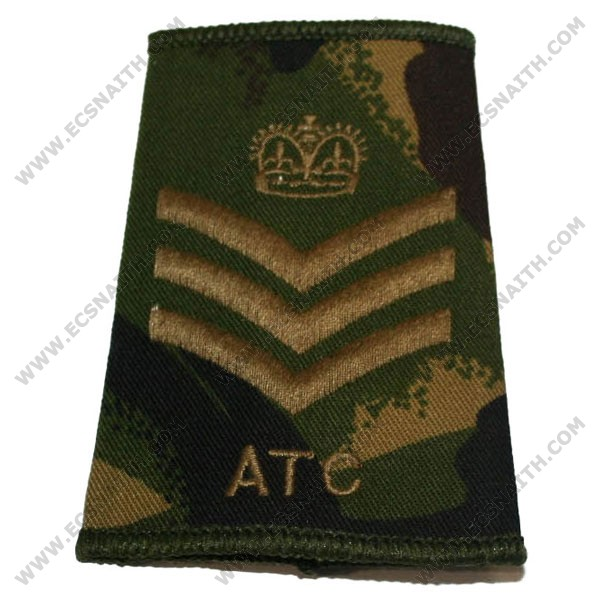 ATC Rank Slides, CS95, (F/Sgt)
