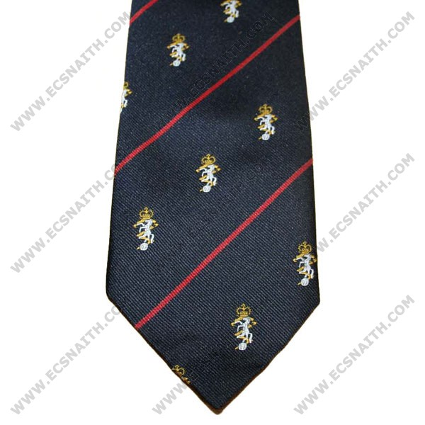 REME Crested Tie