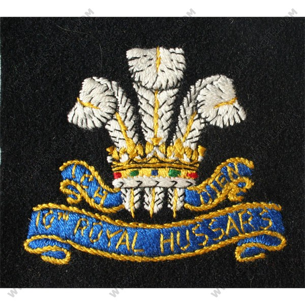 10th-Royal-Hussars-Silk-Blazer-Badge