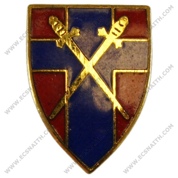 1st Army Lapel Badge
