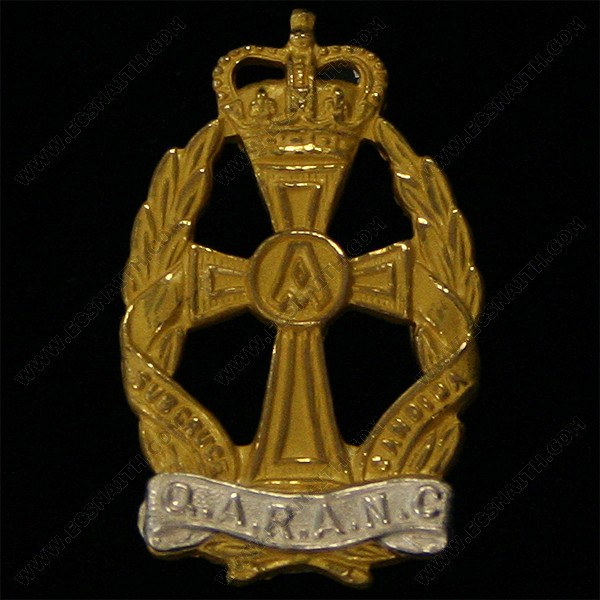 QARANC Officer's Collar Badges