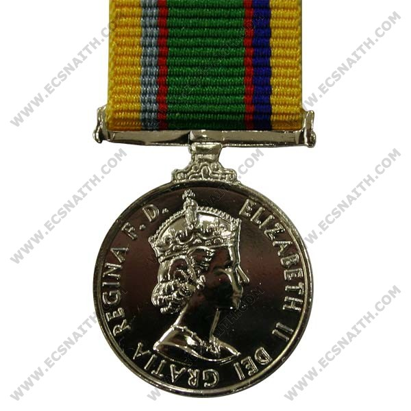 Cadet Forces, E11R, Medal (Miniature)