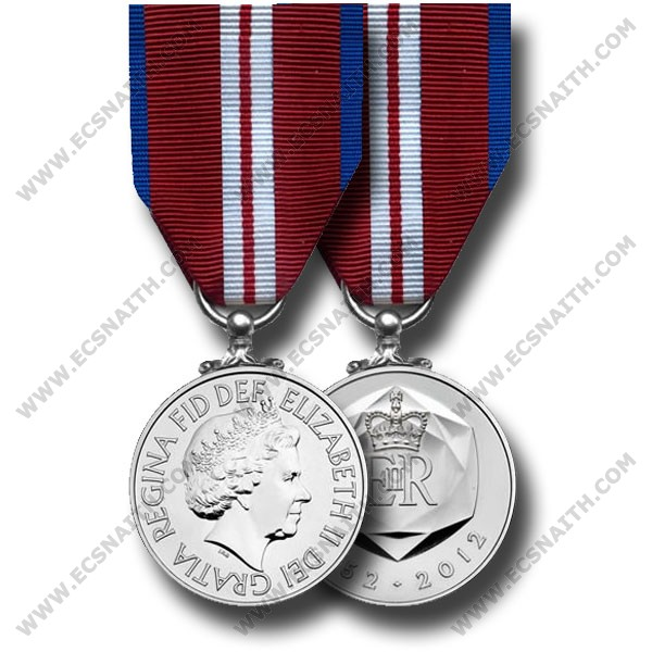Diamond Jubilee, Medal (Miniature) MOD Medal Office Approved