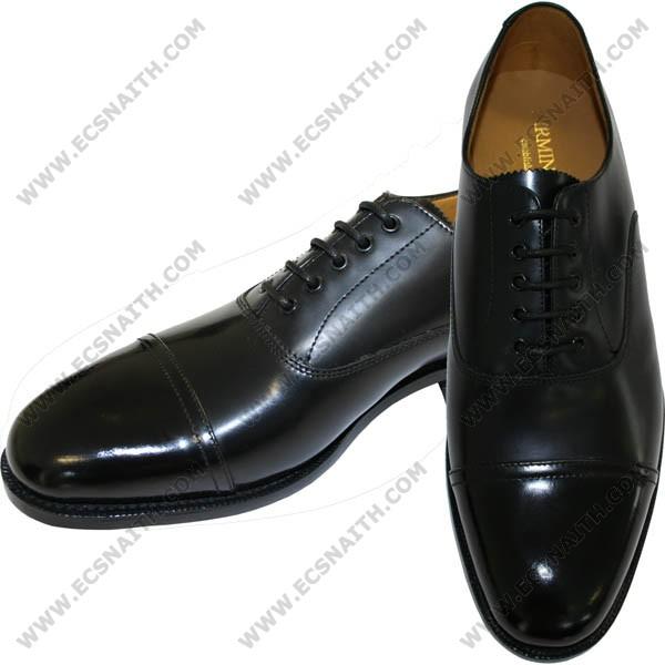 Parade Shoe With Polished Toe Cap