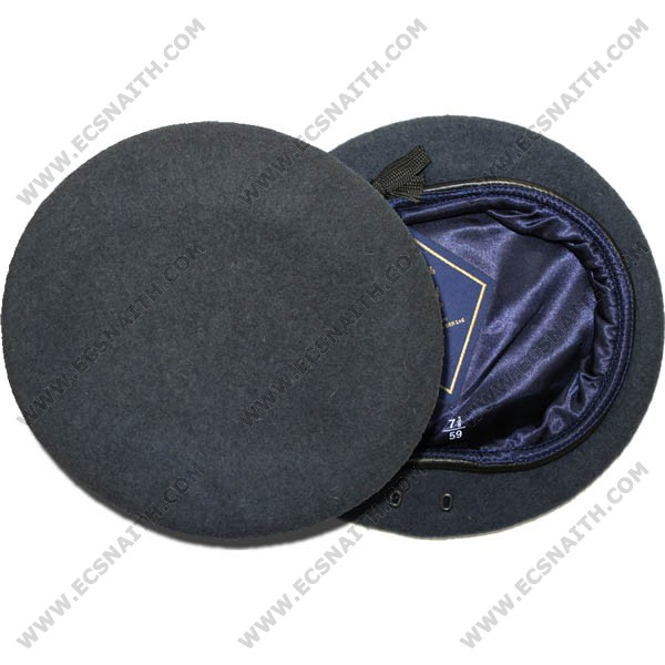90f23c6b68dd2 RAF Beret (With Eyelets) - E.C.Snaith and Son Ltd