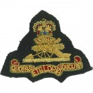 Royal Artillery Beret Badge, Officers