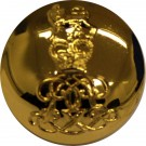 Life Guards Button, Gilt, Officer (40L)