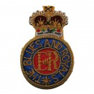 Blues And Royals Beret Badge, Officers