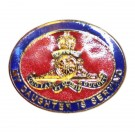 Royal Artillery Daughter Sweetheart Brooch
