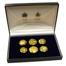 Special Edition Stamping of Civil War Era Buttons - Presentation Case