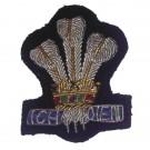 Royal Regiment of Wales Cap Badge, Officers, No1 Dress