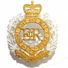 Royal Engineers Cap Badge, Officers