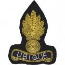 Royal Engineers Beret Badge, Officers