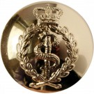 Royal Army Medical Corps Button, Anodised (30L)