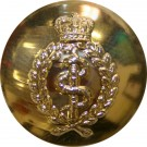 Royal Army Medical Corps Button, Anodised, Screw Fitting (30L)