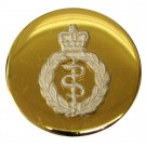 Royal Army Medical Corps Button, Mounted, Flat (22L)