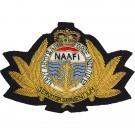 NAAFI  Cap Badge