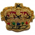 Crowns Gold 1/2""
