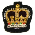 WO2 Gold On Navy Badge