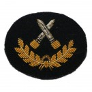 Grade 3 Infantryman Badge - Gold on Navy
