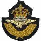 Royal Air Force Cap Badge, Officers, GV1R