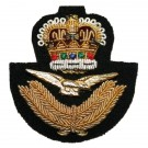 Royal Air Force Beret Badge, Officers