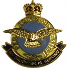 RAF Daughter Sweetheart Brooch