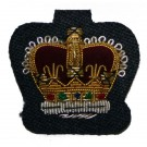 Royal Air Force (RAF) VRT Warrant Officer Crown Badge