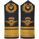 RAF Air Vice Marshal 6A, 8,11 Dress Shoulder Boards