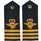 RAF Wing Commander 6A, 8, 11 Dress Shoulder Boards