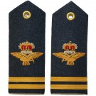 RAF Flight Lieutenant 6A,8,11 Dress Shoulder Boards