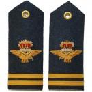RAF Flight Lieutenant 6A,8,11 Dress Shoulder Boards