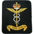 RAF Medical Silk Blazer Badge