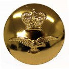 Royal Air Force Button, Anodised, Horizintal Shank (27L)