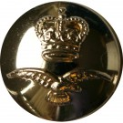 Royal Air Force Button, Anodised, Screw Fit (26L)