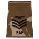 RAF Rank Slides, Desert, (Sgt Aircrew)