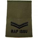 RAF Rank Slides, Olive Green, (Cpl), ISSU