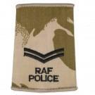 RAF Rank Slides, Desert, (Cpl), Police