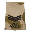 RAF Rank Slides, Desert, (Sgt), Police