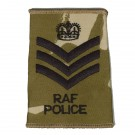 RAF Rank Slides, Desert, (F/Sgt), Police