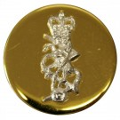 REME Button, Mounted, Gilt (32L)
