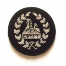 The Rifles Side Hat Back Badge